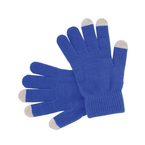 Telefoon handschoenen blauw