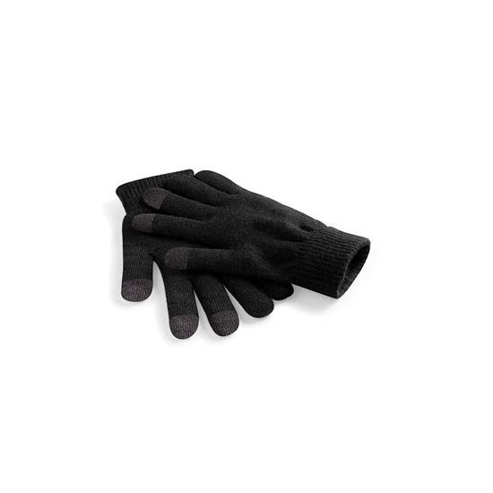 Telefoon handschoenen zwart