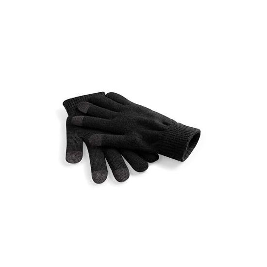 Dames telefoon handschoenen zwart