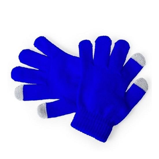 Telefoon handschoenen kind blauw